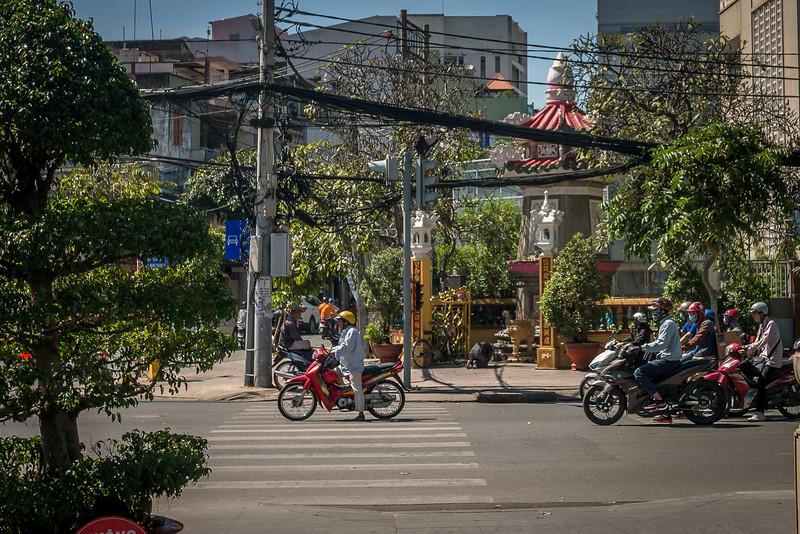 In Saigon (Ho Chi Minh City), Vietnam.