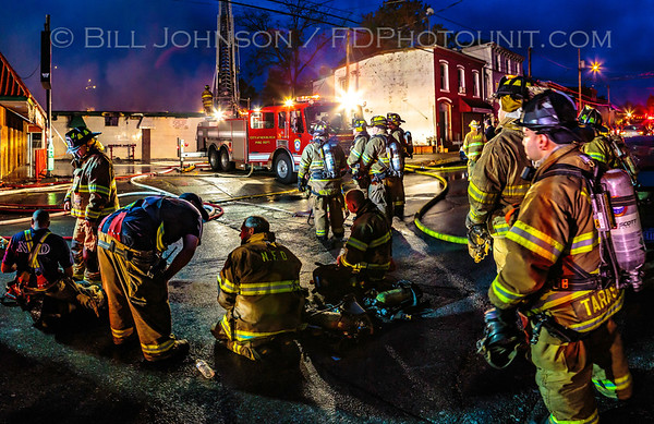 City of Newburgh Fire Department - Structure Fire   Washington Ave. 10/25/2015