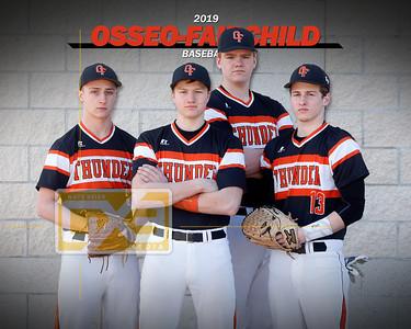 Osseo-Fairchild baseball seniors BB19