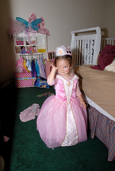 9/24/07 Madeline in her Sleeping Beauty costume