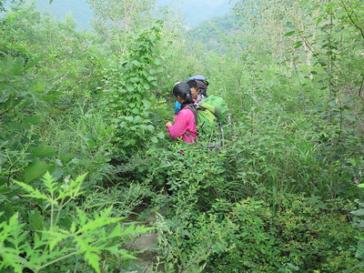 Jiankou Great wall trekking camping