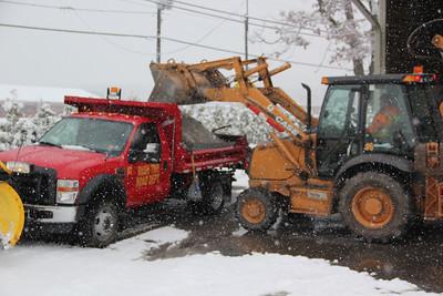 Salt Truck, Rush Township (11-27-2012)