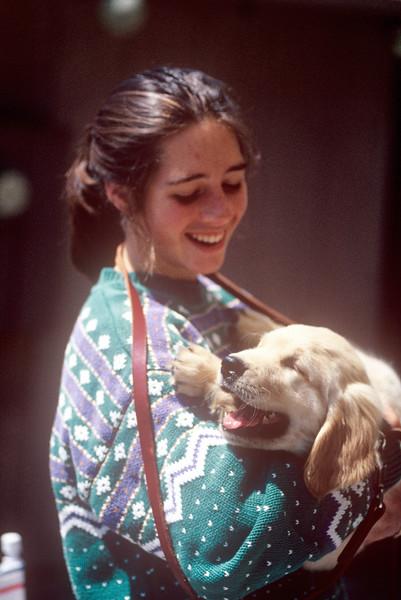 1991-06 Zana & Dog.jpg