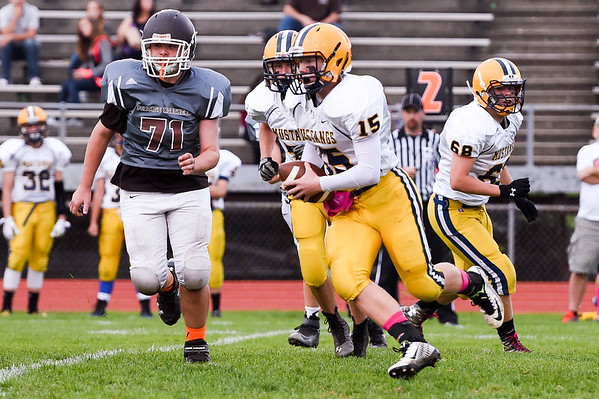 2015-10-08 Portage Central 12, Portage Northern 20