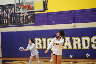 Richardson High School Volleyball vs Heath  JV