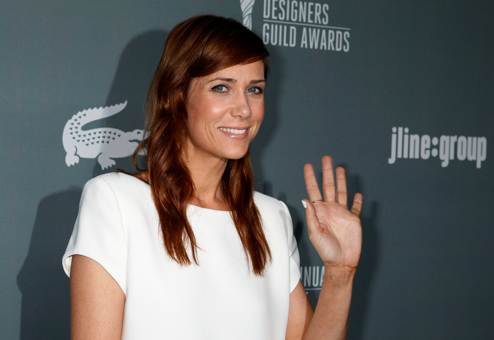 . Actress Kristen Wiig arrives at the 15th Annual Costume Designers Guild Awards in Beverly Hills February 19, 2013.  REUTERS/Fred Prouser