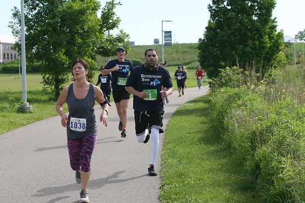 Riverfront Run 8 Jun 2019 Finish 9:07-9:32am
