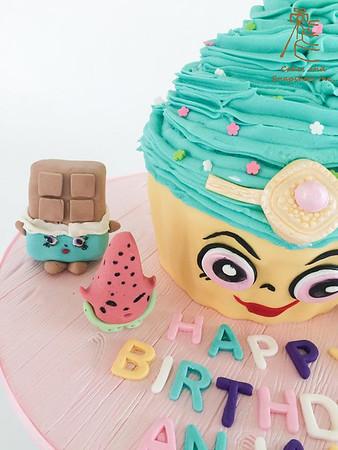 Shopkin Cake