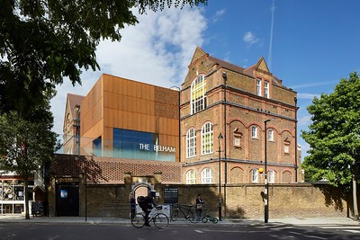 Imar Perforated Corten Belham School London SE15