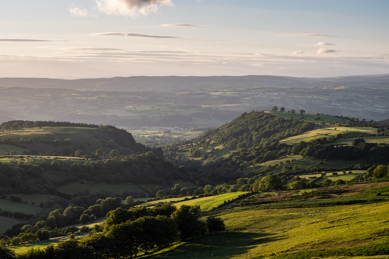 Wye Valley and Black Mountains