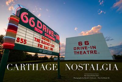 Carthage Nostalgia - Route 66 Drive In