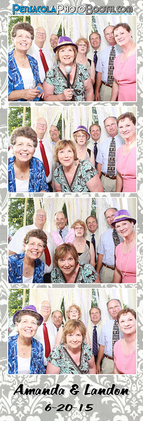 Amanda + Landon's Wedding 6-20-2015
