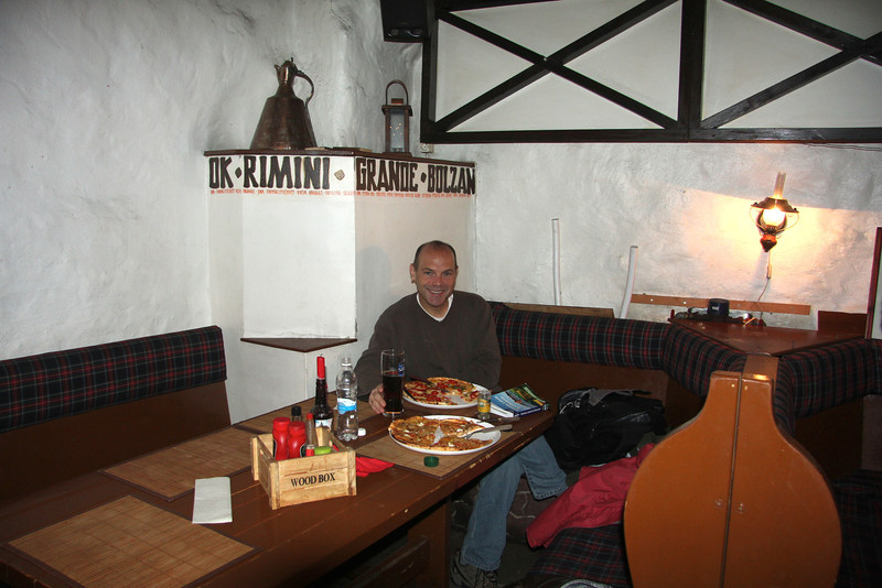 Having a yummy lunch inside one of the countless medieval buildings in Tallinn