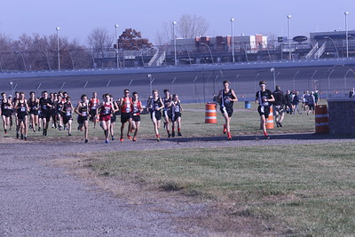 D3 Boys' at 400M Section 1 - 2020 MHSAA LP XC