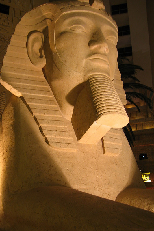 Interior of the Luxor