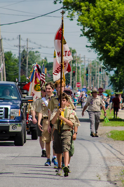Milton 4th of July Parade 2013
