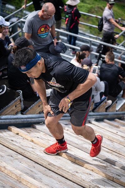 Participants perform at the Redbull 400 Whistler on July 13, 2019