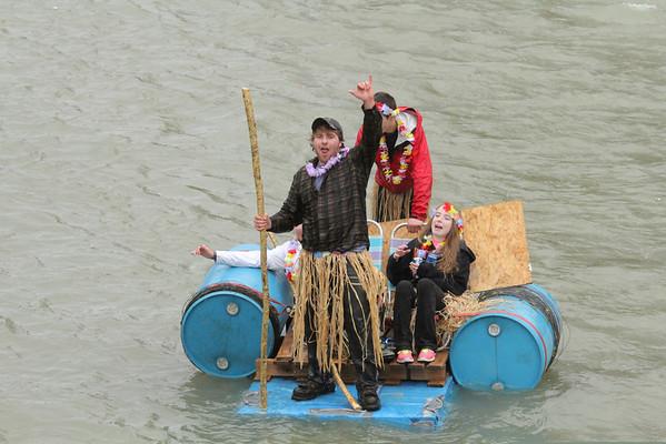 Bridgewater Raft Race, 2014