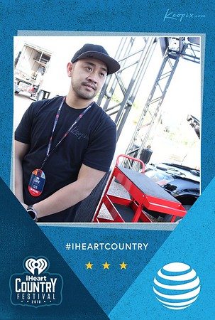 Prints - AT&T - iHeartCountry Fest Mosaic wall