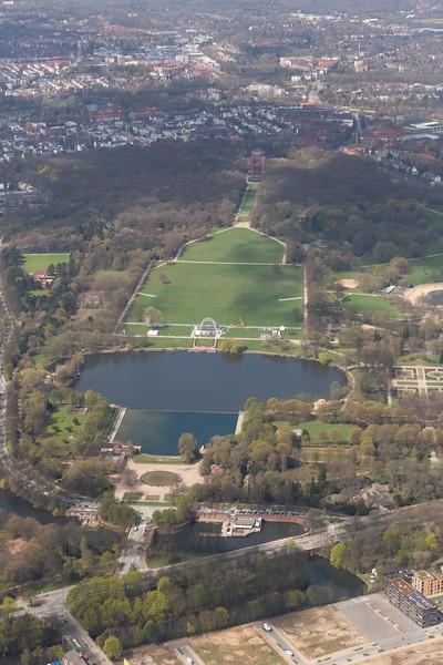 Luftbild Stadtpark Hamburg