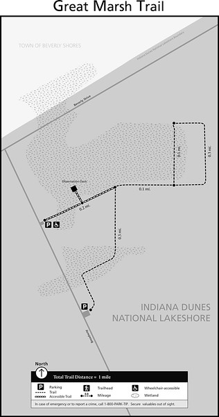 Indiana Dunes National Park (Great Marsh Trail)