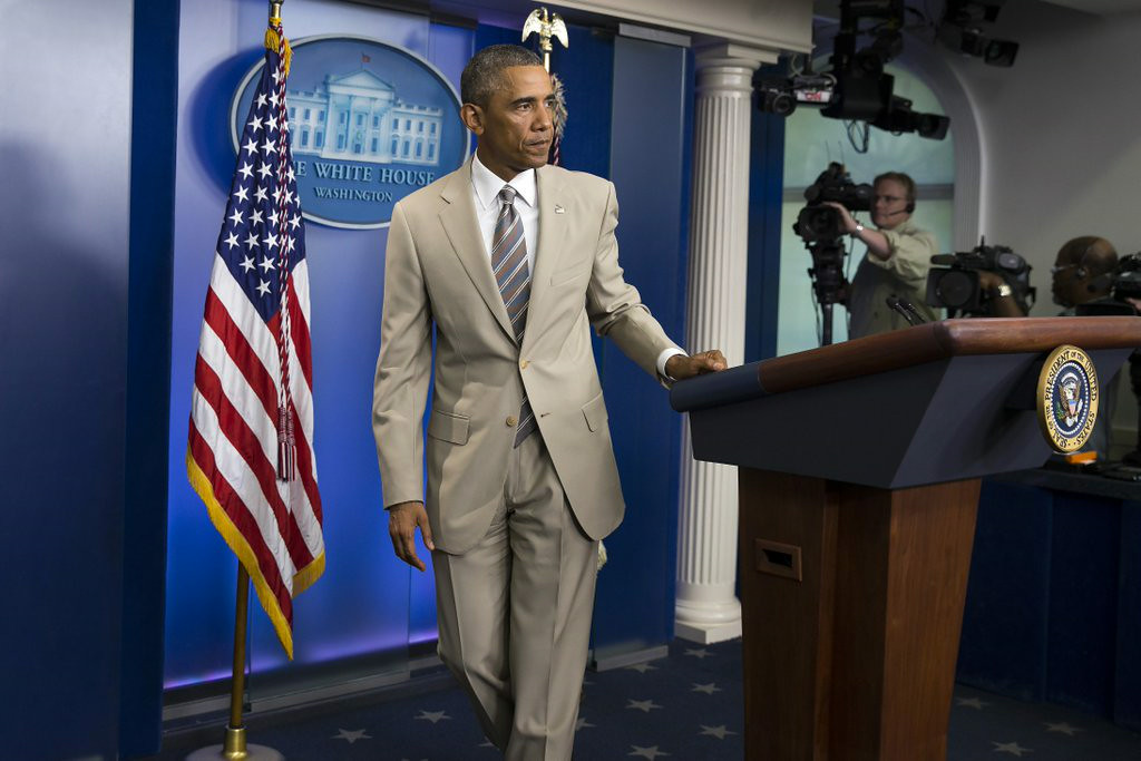 """. 3. (tie) BARACK OBAMA <p>Doesn�t have a strategy to deal with ISIS, or anything else. But he does have some snazzy new duds. (unranked) </p><p><b><a href=\""""http://abcnews.go.com/Politics/president-obama-strategy-fight-isis/story?id=25164105\"""" target=\""""_blank\""""> LINK </a></b> </p><p>    (AP Photo/Evan Vucci)</p>"""