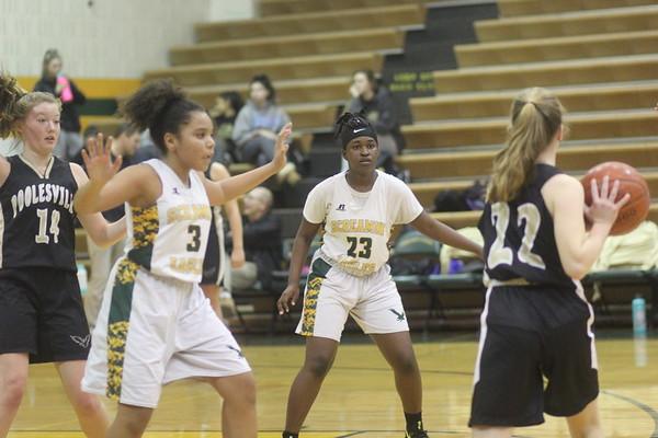 SV JV Girls Basketball vs. Poolesville  1/18/2019