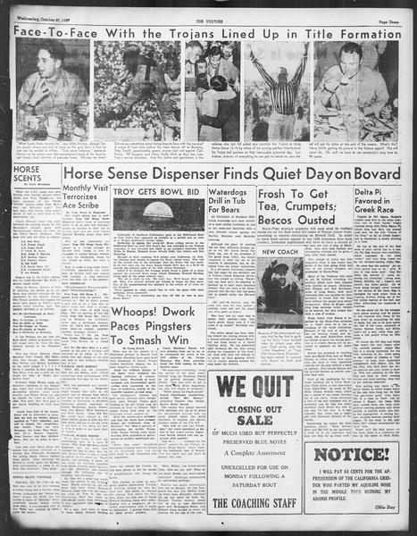 The Sigma Delta Chi Vulture, Vol. 1937, No. OCT, October 27, 1937