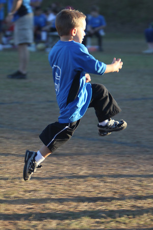 Jackson's First Soccer Game 10-4-11