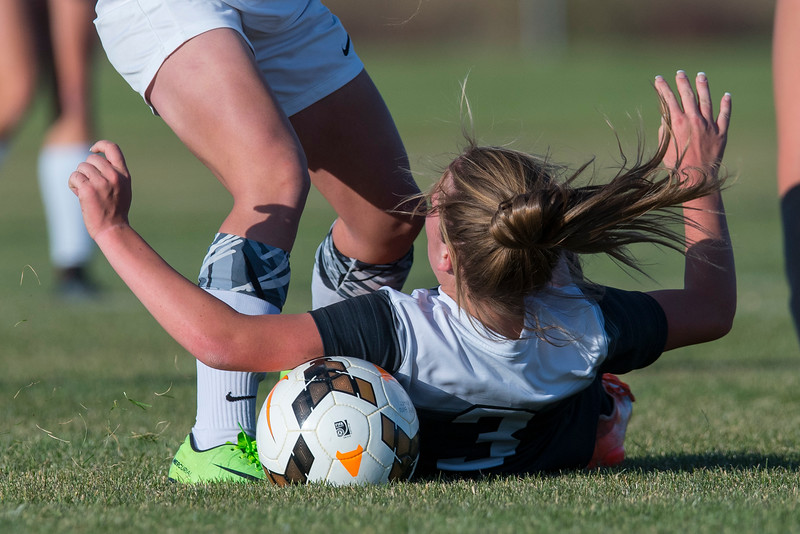 Syracuse Titans girls soccer team blows past Pleasant Grove High School in a 2-1 win, during the  4-A girls soccer state tournament on Thursday October 12, 2017 in Syracuse.