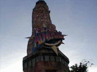 Islands of Adventure - 11/24/2000