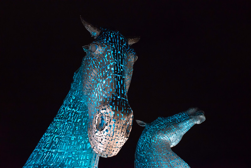 Kelpies, Falkirk, Scotland.