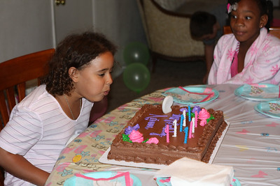Arianna 9th Birthday