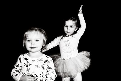 Teagan @ 3 Months w/ Zoe & Emmalee