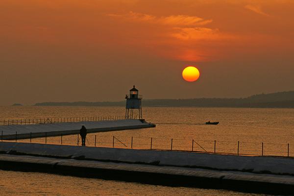 Lake Superior Sunrises and Sunsets