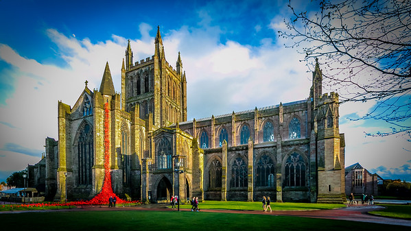 Hereford Cider Museum and Cathedral 25th April