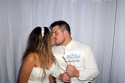 Nancy and Brett's Wedding Photobooth