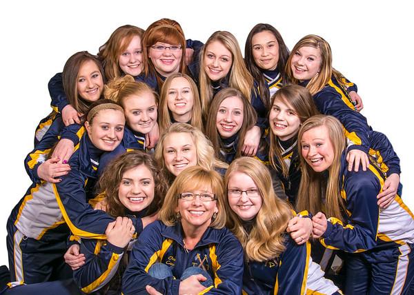 2013-2014 Tomahawk Dance Team