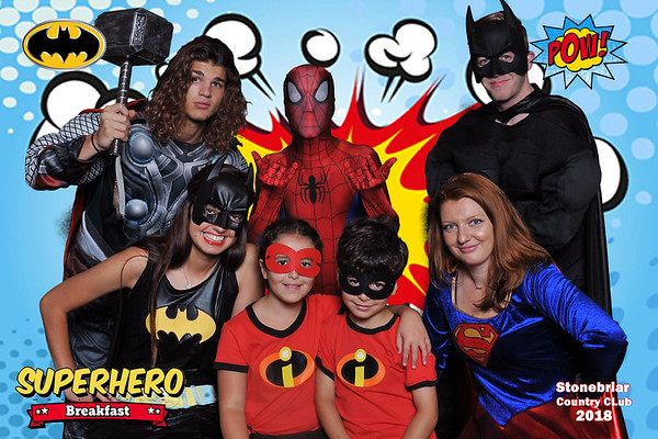 Stonebriar Country Club SuperHero Breakfast