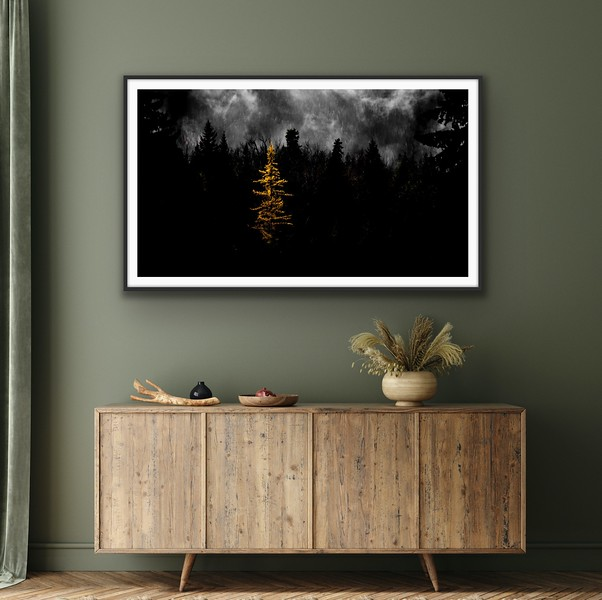 'Lone Larch' Fine Art Print Framed/Unframed