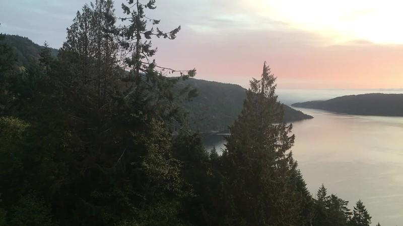 Sunrise over the Finlayson Arm
