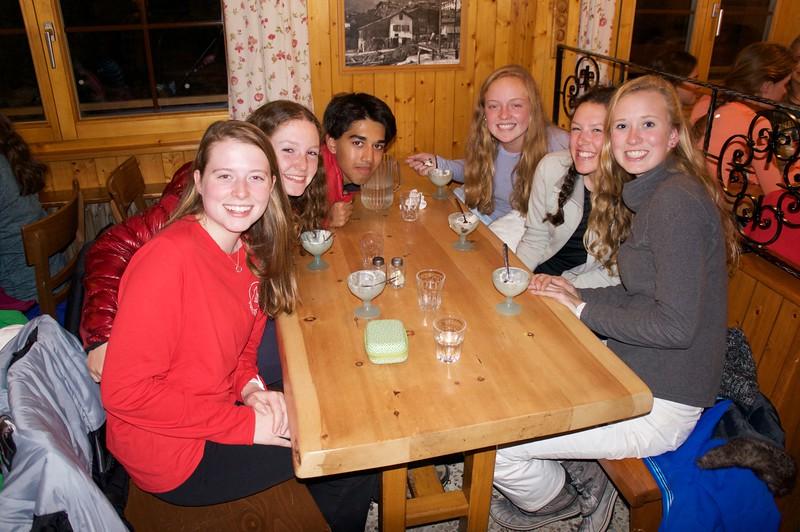 Claire, Jesse, Pranav, Amelia, Parker, and Sarah