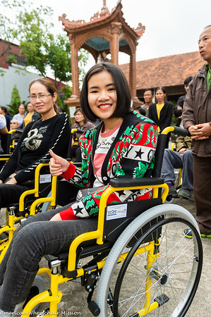 2020 Vietnam (Jan) Wheelchair Distributions