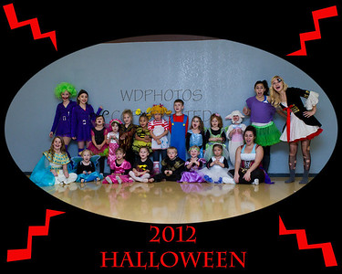 2012 Halloween Party Tuesday Heights, 4:30 class