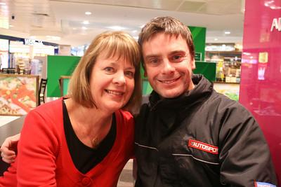 With Mum - Melbourne, 2012