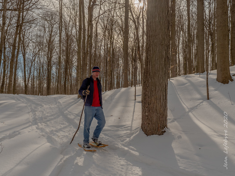 Columbia Forest Snowshoeing