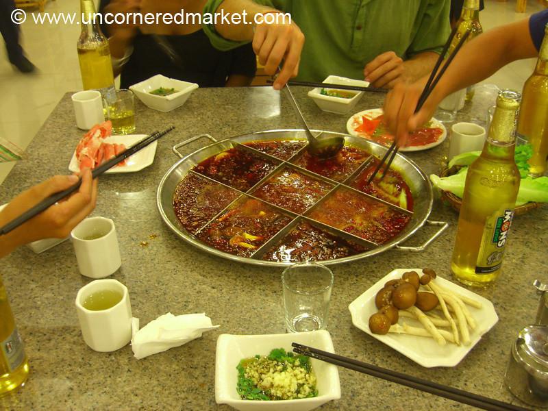Sichuan Hot Pot - Chengdu, China