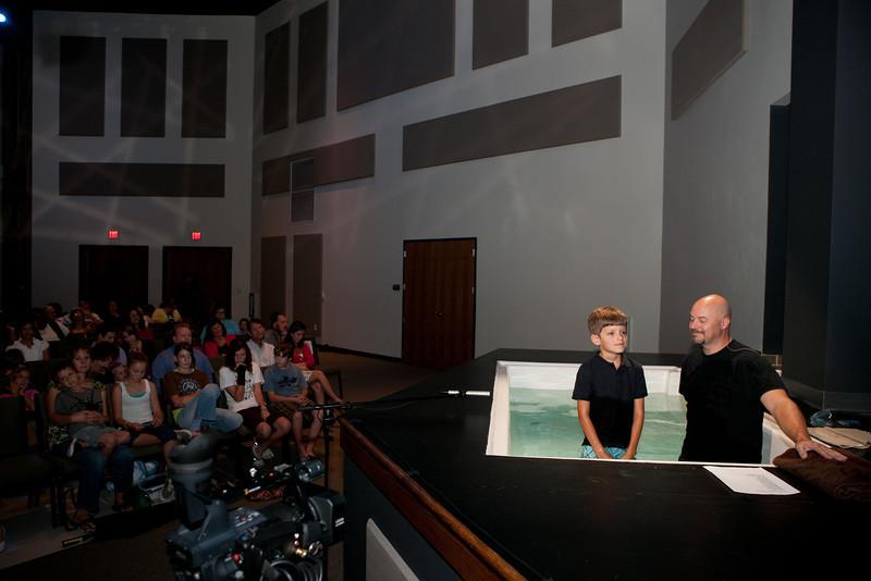 TREY'S BAPTISM 2011
