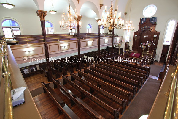 USA, New York, New York City, Manhattan. Congregation Chasam Sopher. (2009)