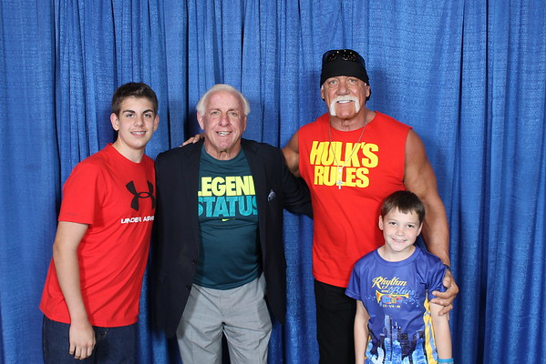 Hogan and Flair